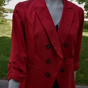 Red Business Jacket